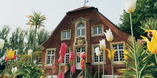 Das Rüschhaus in Münster diente der Droste als Rückzugsort.