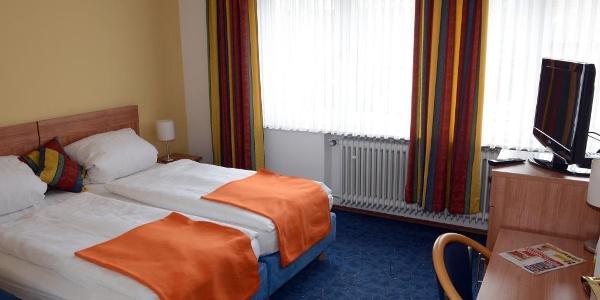 Doppelzimmer im Hotel Mertens, Altenbeken