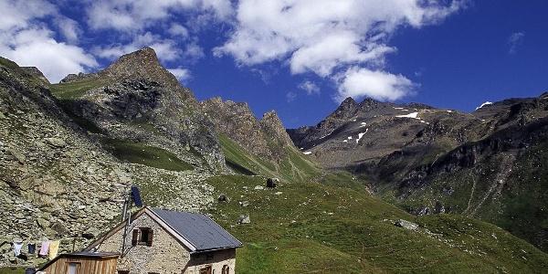 Sterzingerhütte Wilde Kreuzspitze Pfitsch Sterzing