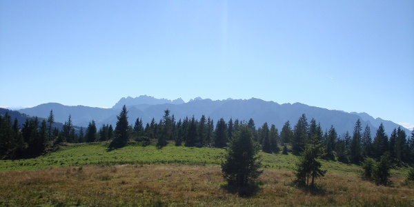 Panorama auf das Kaisergebirge