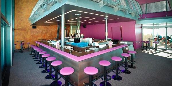 Die Bar im Panorama Restaurant Sattel, Samnaun