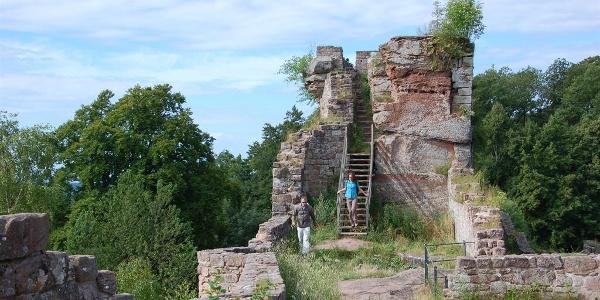 Burgruine Wegelnburg 02