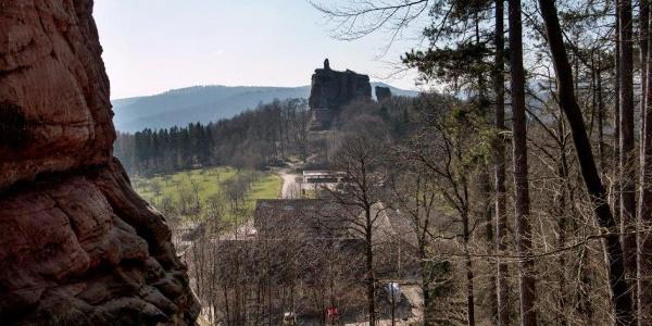 Blick auf Fleckenstein