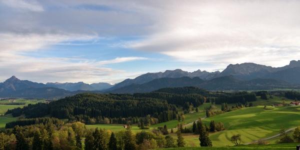 Die Schlosspark-Landschaft