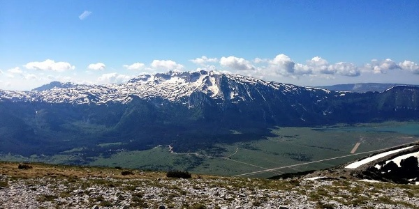 View from Veliki Vran Peak