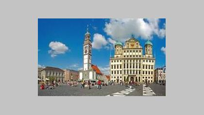 Augsburg Rathausplatz von Guido Radig