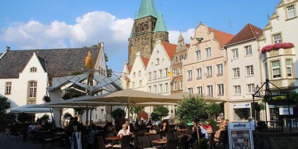 Markt in Warendorf