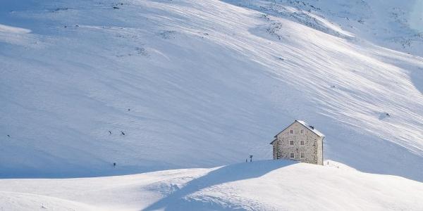 Die alte Pforzheimer-Hütte