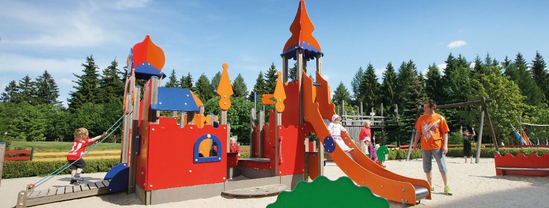 Spielplatz für Kinder im IFA Ferienpark Schöneck/Vogtland