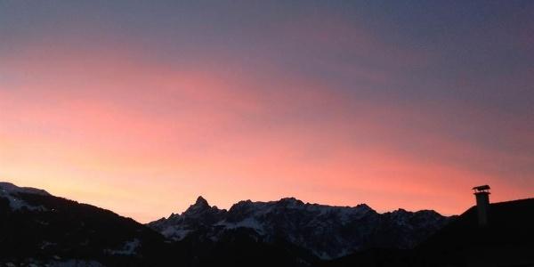 Sonnenuntergang Zimba
