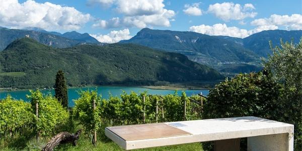 Weinweg durch Kaltern am See