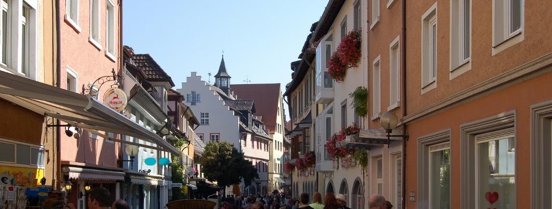 Unterwegs in der Altstadt von Radolfzell