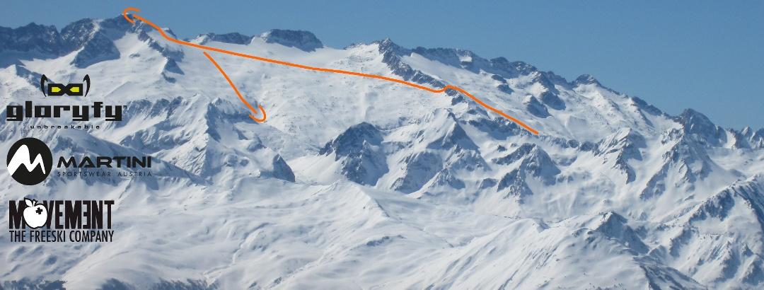 Pico de Aneto Übersichtsbild - Topo