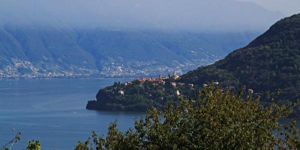 Aufstieg oberhalb von Cannobio