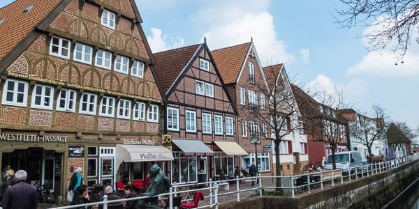 Fleet in Buxtehude