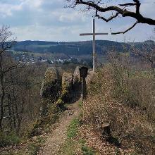 Die Hohe Ley über dem Nistertal