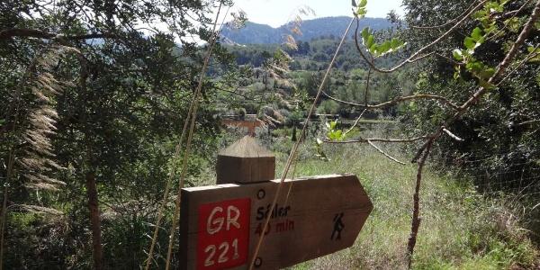 Wegkennzeichnung GR221