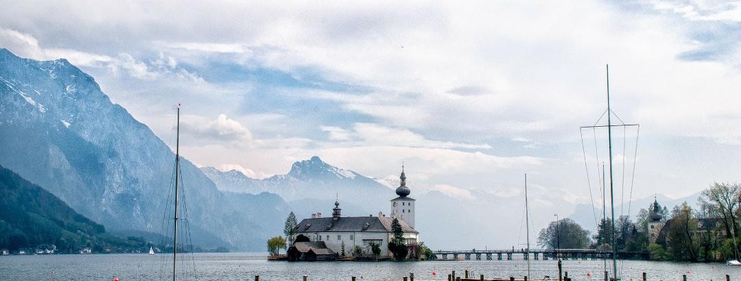 Das Schloss Ort am Traunsee