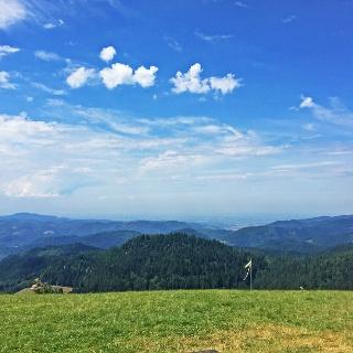 Oppenauer Steige mit Blick ins Rheintal