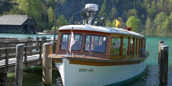 Eines von 17 Elektrobooten