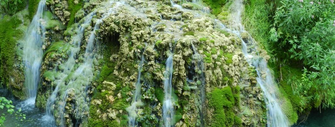 Wasserfälle in Burgos
