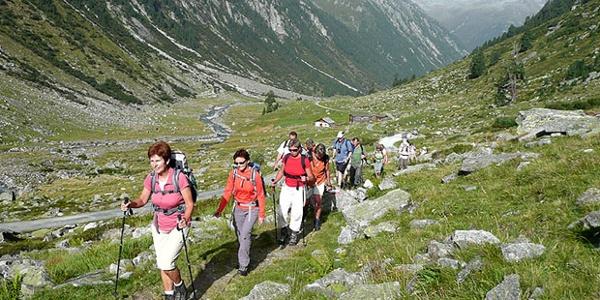 Aufstieg zur Warnsdorfer Hütte