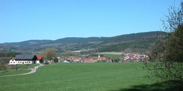Rückblick auf Birkhof und Neukirchen
