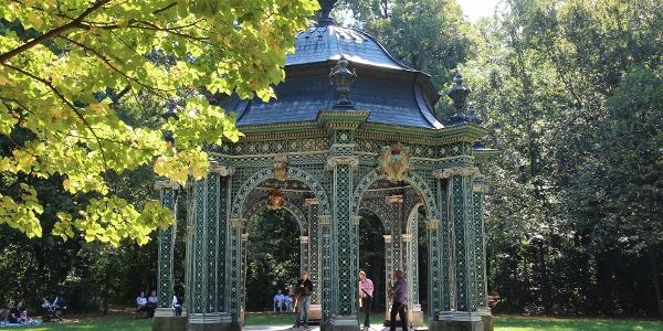 Diana Tempel im Schlosspark Laxenburg, Bild von Wolfgang Mastny