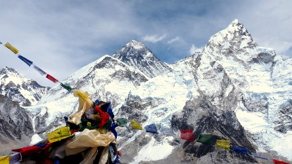 Kala Patthar 5643m mit Everest