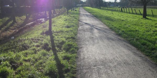 Wanderweg entlang der Norf
