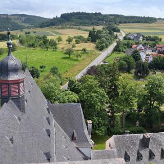 Blick vom Turm der Wallfahrtskirche Klausen