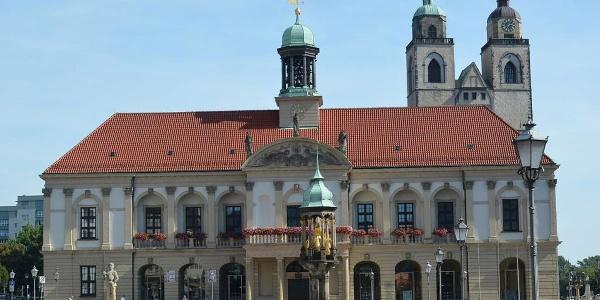 Schleifneroute - Magdeburg Rathaus