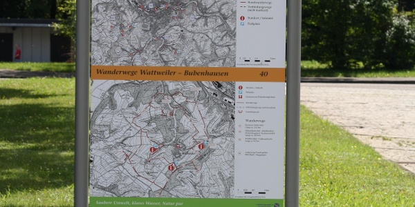 Infotafel Waldfriedhof