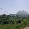 Blick auf den Monte Castello di Gaino.