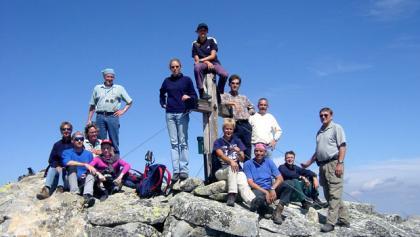 Gipfel Hohe Fürlegg (2.943 m)