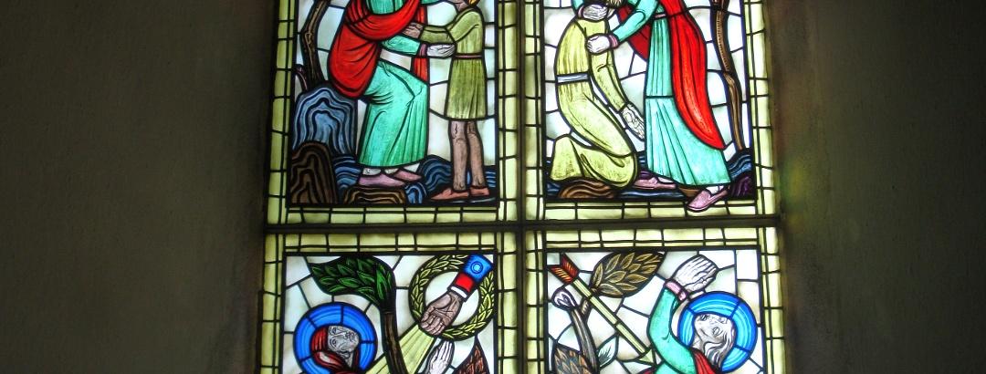 Fönster i Fulltofta kyrka