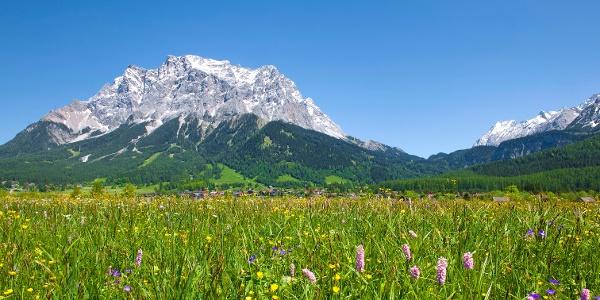 Die Zugspitze - Deutschlands höchster Berg