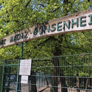 Wildpark Gonsenheim Schild