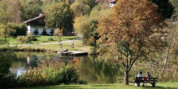 Kurpark St. Englmar