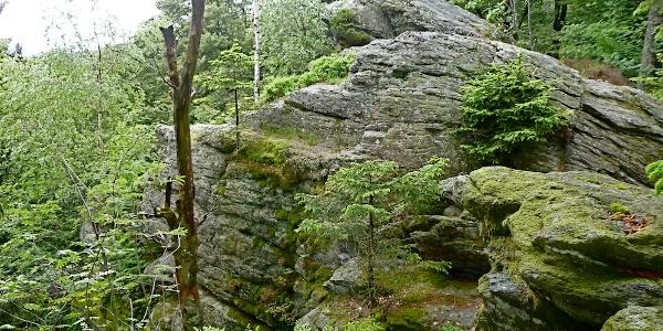Saustein-Felsen