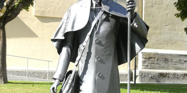 Pilgerstatue in Pfullendorf