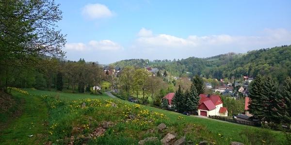 Blick über Lauenstein