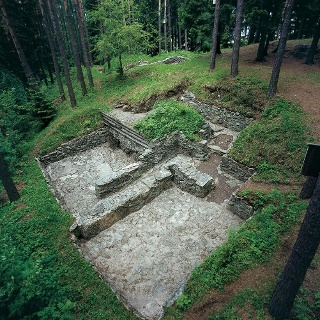 Fundament Rätersiedlung Himmelreich