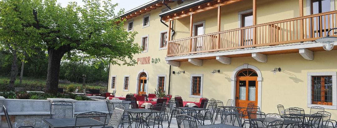 Pahor, esterno panoramico