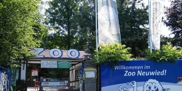 Der Zoo Neuwied beherbergt mehr als 150 Tierarten.