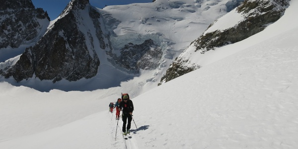 Vom Glacier Blanc ...