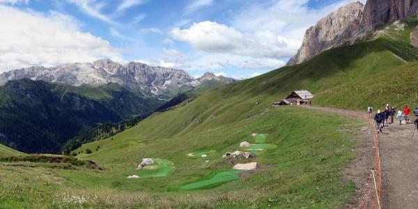 Trekking ai Rifugi Pertini, Sasso Piatto e Micheluzzi.