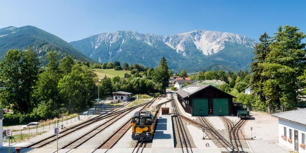 Bahnhof in Puchberg am Schneeberg