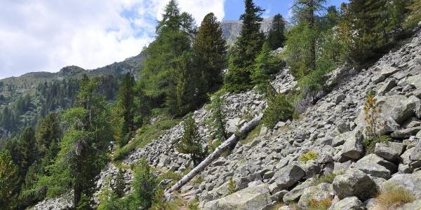 Trekking al Lago delle Malghette.