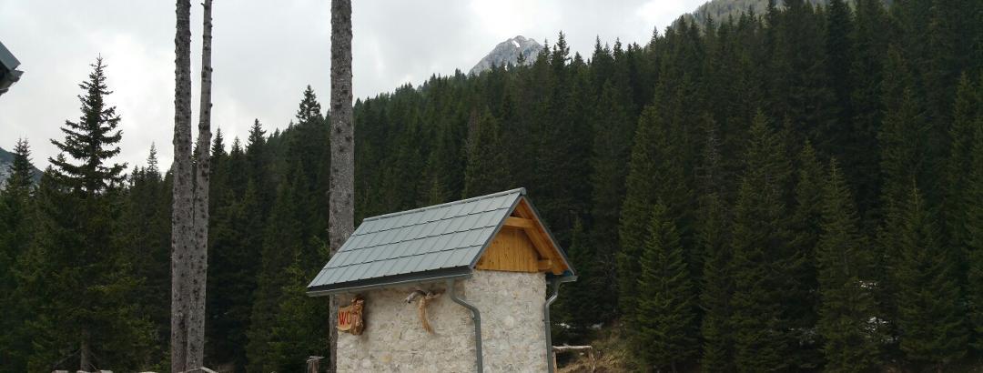 Blick von der Berghütte